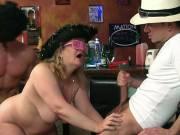 Wild BBW party sluts at play